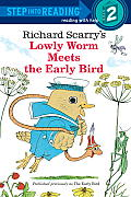 Lowly Worm Meets the Early Bird (Step Into Reading - Level 2 - Quality)