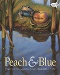 Peach & Blue