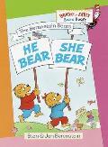 He Bear, She Bear (Bright & Early Board Books)
