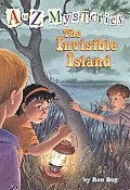 A to Z Mysteries #09: The Invisible Island Cover