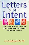 Letters Of Intent Women Cross The Genera