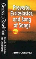 Genesis to Revelation Proverbs, Ecclesiastes, and Song of Solomon Student Study Book (Genesis to Revelation)