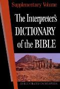 The Interpreter's Dictionary of the Bible Supplementary Volume