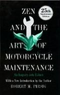 Zen and the Art of Motorcycle Maintenance: An Inquiry Into Values Cover