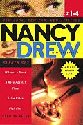 Nancy Drew Girl Detective Sleuth Set: Without a Trace/A Race Against Time/False Notes/High Risk
