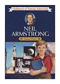 Neil Armstrong: Young Pilot (Childhood of Famous Americans) Cover