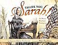 Thank You, Sarah: Thank You, Sarah