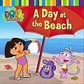 A Day at the Beach (Dora the Explorer) Cover