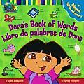 Doras Book of Words Libro de Palabras de Dora A Bilingual Pull Tab Adventure