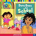Dora the Explorer #08: Dora Goes to School Cover