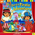 Dora the Explorer #12: Dora's Pirate Adventure Cover