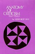 Anatomy Of Criticism Four Essays