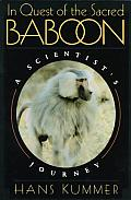 In Quest of the Sacred Baboon: A Scientist's Journey Cover