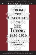 From The Calculus To Set Theory 1630 191
