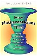 How Mathematicians Think Using Ambiguity Contradictiond Paradox to Create Mathematics