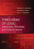 Three Views of Logic: Mathematics, Philosophy, and Computer Science