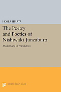 The Poetry and Poetics of Nishiwaki Junzaburo: Modernism in Translation