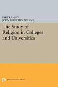 The Study of Religion in Colleges and Universities