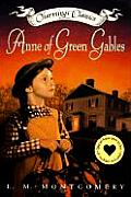 Anne of Green Gables Book & Charm With Heart Locket & Necklace