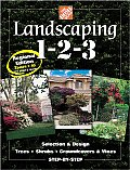 Landscaping 1-2-3: Regional Edition Zones 7-10 (Home Depot ... 1-2-3) Cover