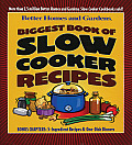 Better Homes and Gardens Biggest Book of Slow Cooker Recipes Cover