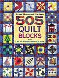 Better Homes & Gardens 505 Quilt Blocks