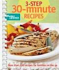 3 Step 30 Minute Recipes