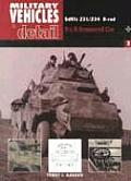 Military Vehicles in Detail SDKEZ 231 to 234.8 rad 8x8 Armoured Car