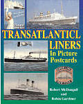 Transatlantic Liners in Picture Postcards Cover