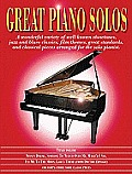 Great Piano Solos: The Red Book: A Wonderful Variety of Well-Known Showtunes, Jazz and Blues Classics, Film Themes, Great Standards and Classical Piec