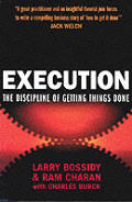 Execution The Discipline Of Getting Thin