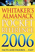 Whitakers Pocket Reference 2006 (Large Print)