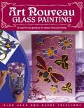 Art Nouveau Glass Painting