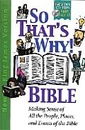 Bible Nkjv So Thats Why