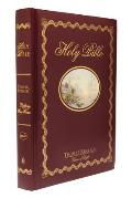 The Holy Bible: Thomas Kinkade Lighting the Way Home: NKJV New King James Version