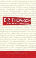 E. P. Thompson and English Radicalism