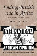 Ending British rule in Africa
