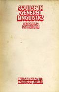Courses in General Linguistics