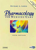 Pharmacology for Nursing Care Cover