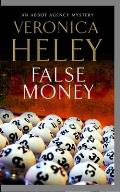 False Money (Large Print) (Abbot Agency Mysteries)
