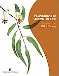 Foundations of Australian law, 3d ed