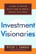 Investment Visionaries Lessons In Crea