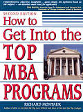 How To Get Into The Top Mba Programs 2nd Edition