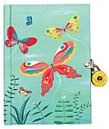 Locked Diary Butterflies