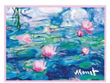 Monet Evening Waterlilies 1000 Piece Puzzle