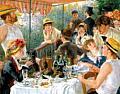Renoir Boating Party Keepsake Boxed Notecards