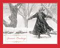 Winter Pirouett Boxed Draw Holiday Notecards