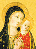 Holy Virgin and Child Boxed Draw Holiday Notecards