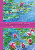 Monet Water Lillies Writers Notebooks