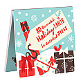 Presents and Ornaments Book of Labels